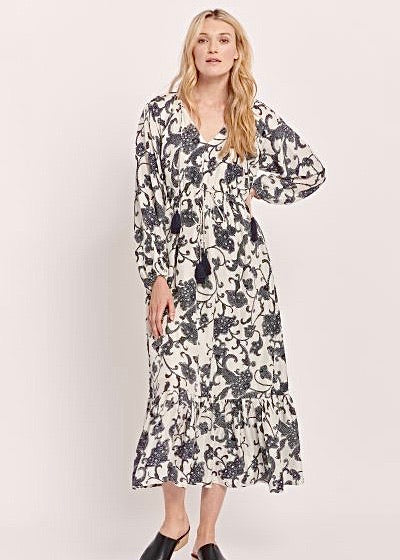 Twilight Floral Olaya Dress
