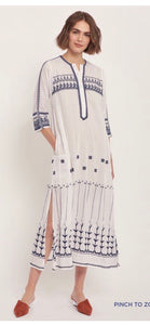 Winter Geo Long Kurta