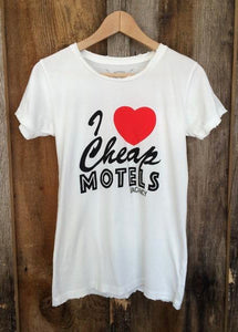I Love Cheap Motels Women's Tee
