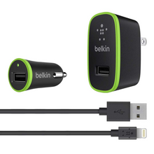 Belkin | Charger Kit with Lightning to USB Cable