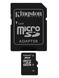 Kingston | 8 GB microSDHC Memory Card