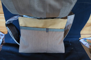 OFIA Orangutan Bag. Handmade from recycled materials.