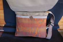 Load image into Gallery viewer, Best Things in Life bag-handmade from recycled materials.