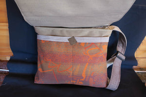 Best Things in Life bag-handmade from recycled materials.