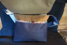 Load image into Gallery viewer, Save the Great Barrier Reef Bag. Handmade from recycled materials.
