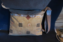 Load image into Gallery viewer, For the Love of Dogs Bag. Handmade from recycled materials.