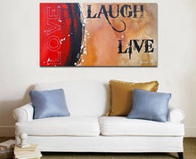 Load image into Gallery viewer, Love Laugh Live