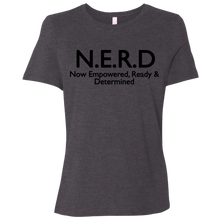 Nerd Girl -Relaxed Jersey Short-Sleeve T-Shirt