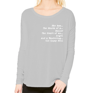 Heart of an Angel - Flowy Long Sleeve