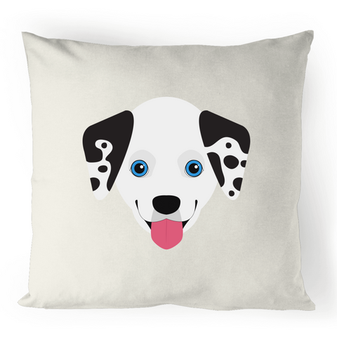 Dalmatian - 100% Linen Cushion Cover
