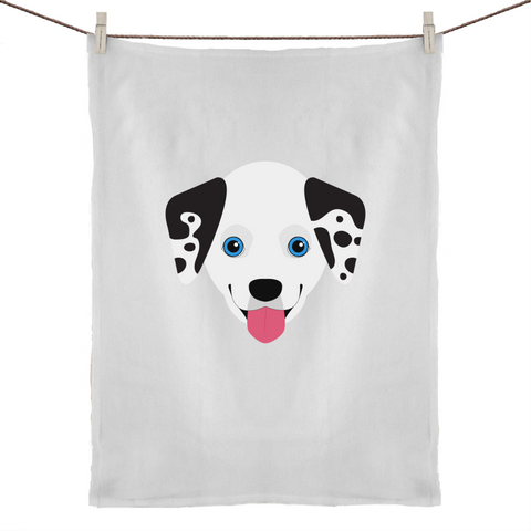 Dalmatian- Tea Towel
