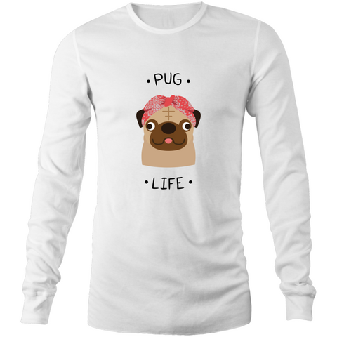 Pug life - Mens Long Sleeve Tee