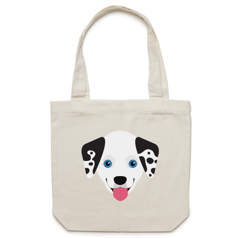 Dalmatian - Canvas Tote Bag