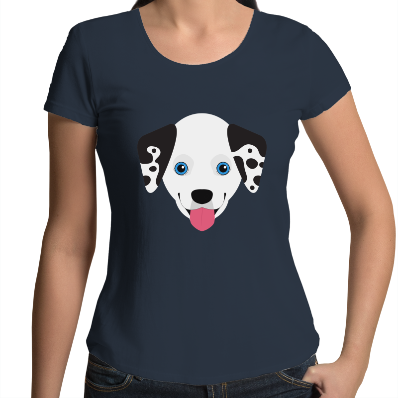 Dalmatian - Womens Scoop Tee