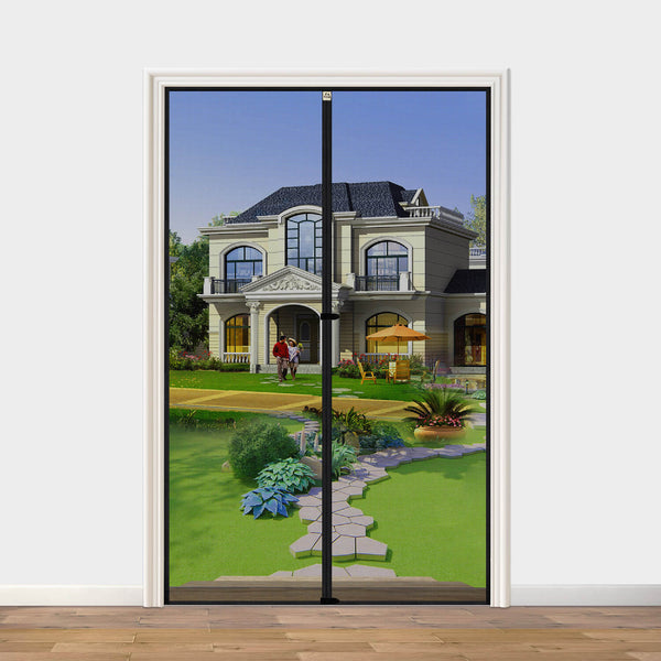 "Magnetic Screen Door 32 Inch, Yotache High Density Mosquito Mesh for Door Size 32""W x 79""H Prevent Insect Fly Bugs"