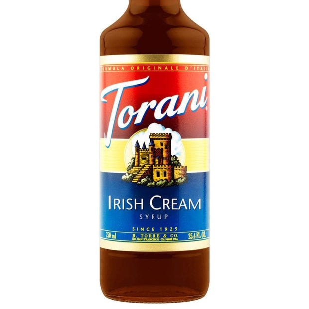 Torani Irish Cream Kaffesirup (750 ml.) - SKU 962056 - EAN no 089036312059 - Kaffesirup