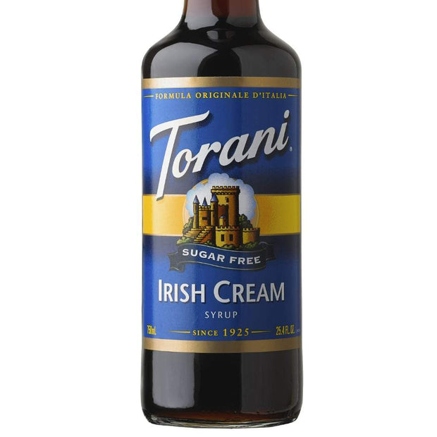 Torani Irish Cream Sukkerfri Kaffesirup (750 ml.) - SKU 372053 - EAN no 089036322058 - Kaffesirup