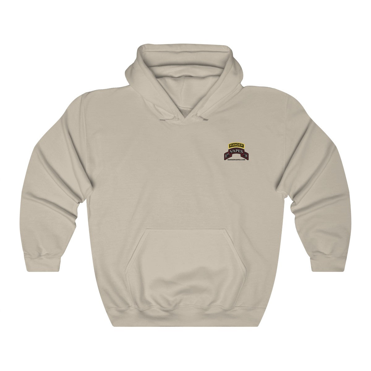 Light colored Logo Hooded Sweatshirt