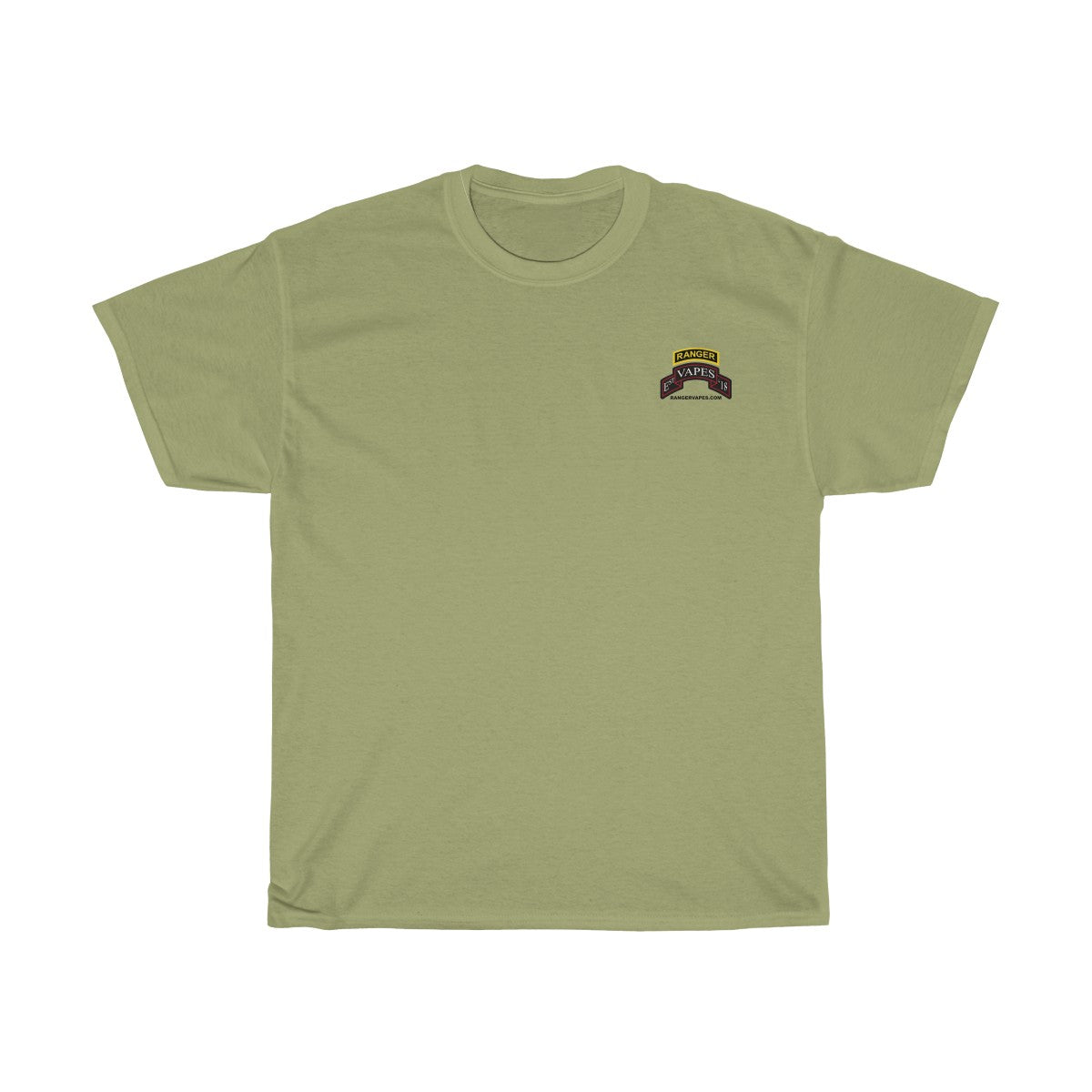 "Lite Colored Hooah! ""It's a Ranger Vapes Thing"" T-Shirt"