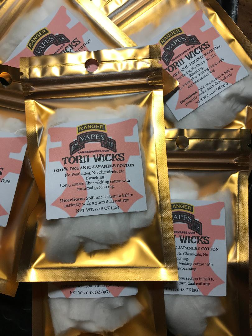 Torii Wicks Organic Cotton