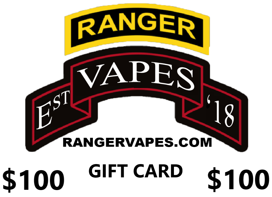 Ranger Vapes Gift Card