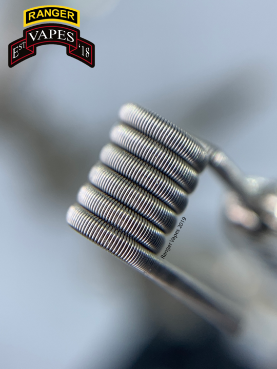 Fused Clapton 4x30g/40g SS 316L 0.11-0.20Ω
