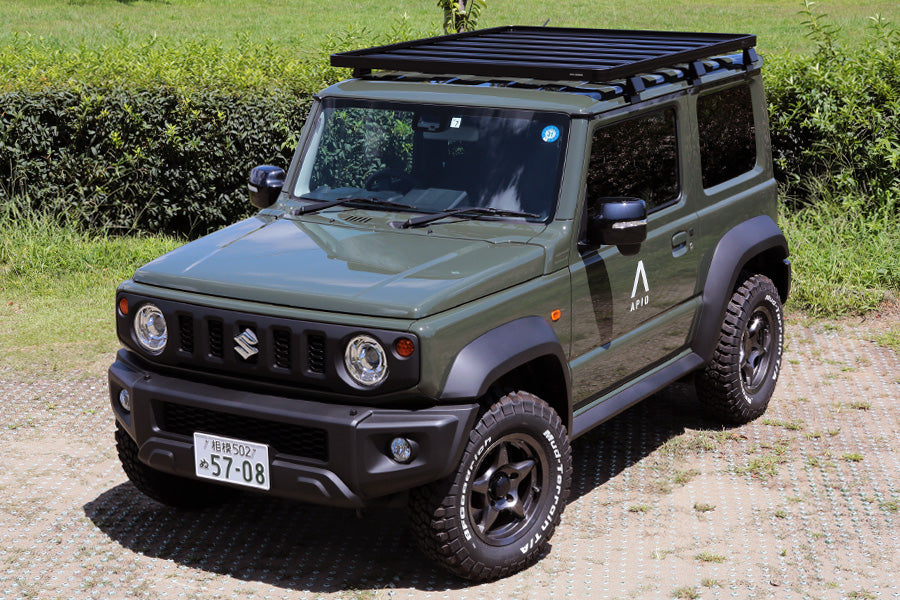 Aluminum Roof Rack Cargo Basket for Suzuki Jimny JB64 JB74 2018-2019