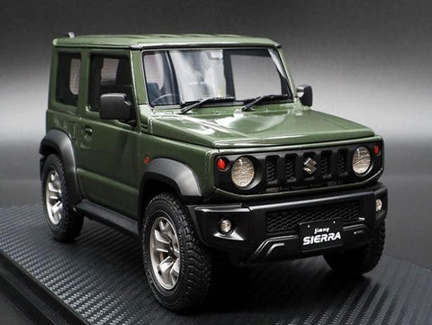 Ignition Model 1/18 SUZUKI Jimny SIERRA JC (JB74W) Jungle Green  (IG1708) resin car model available on Nov-Dec  2020 Pre-order item