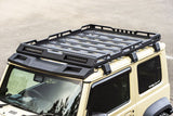 Roof Rack Cargo Basket with 4 LED Light hole for Suzuki Jimny JB64 JB74 2018-2020