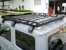 Load image into Gallery viewer, Aluminum Roof Rack Cargo Basket for Suzuki Jimny JB64 JB74 2018-2019