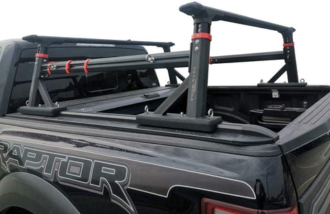 Black Craftsmen Extendable Bed Rack Fits All Modern Pickup Trucks