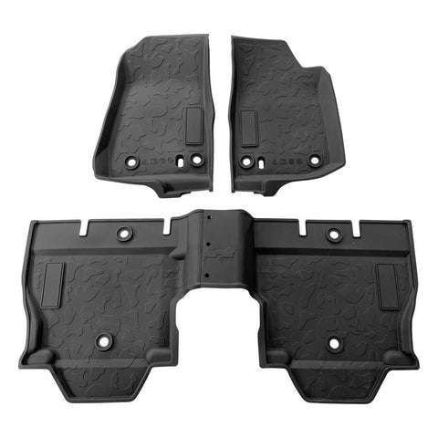 Floor Mats 4 Door 2018-2020 Jeep Wrangler JL