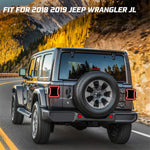 Smoked LED Tail Lights 2018-2020 Jeep Wrangler JL