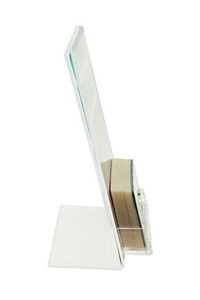 eHopper Gift Cards - 5x7 Acrylic Gift Card Display Stand