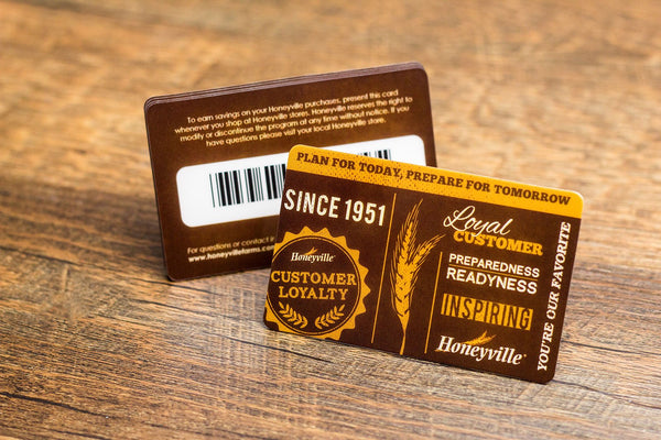 eHopper Gift Cards - eHopper Loyalty Cards - Custom Glossy