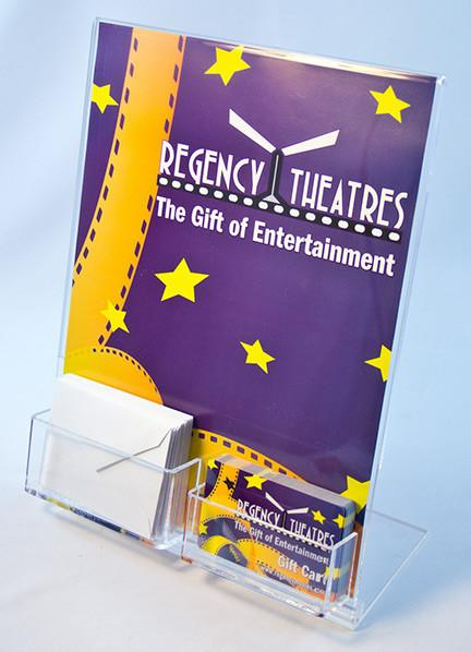 eHopper Gift Cards - Gift Card and Envelope Acrylic Display Stand