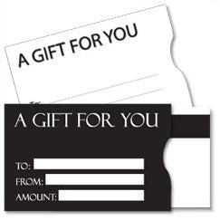 eHopper Gift Cards - Plastic Gift Card Sleeves