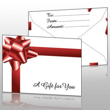 eHopper Gift Cards - Present Style Gift Card Envelopes