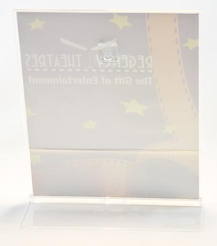 eHopper Gift Cards - Two Gift Card Acrylic Display Stand