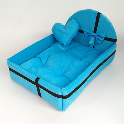 Cute Plush Cushion Dog bed