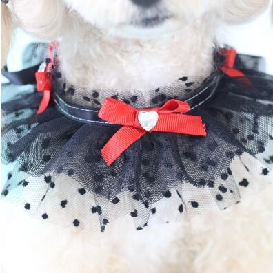 Puppy lace scarf