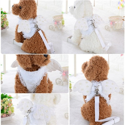 Cute Angel Wing Princess Dog Harness