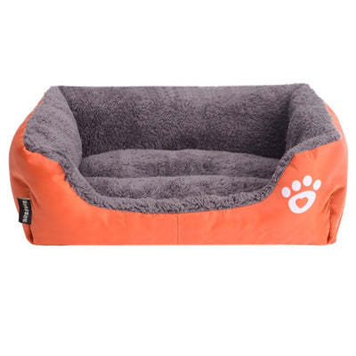Dog Bed Paw Pattern