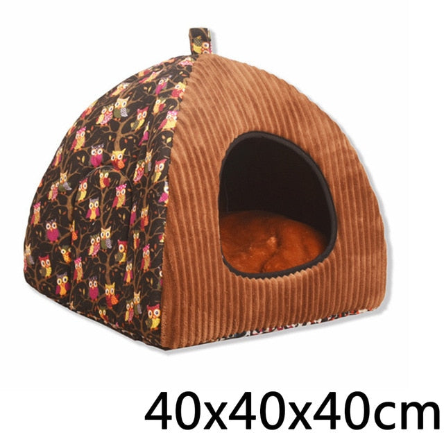 Foldable Dog Bed House