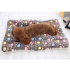 Soft Flannel dog Mat