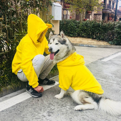Winter Pet Matching Hoodie