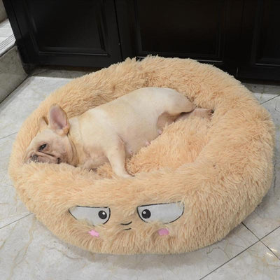 Round Washable Bed For Dogs