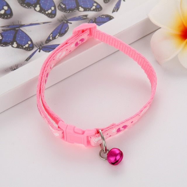 Dog Collars With Bells adjustable Necklace