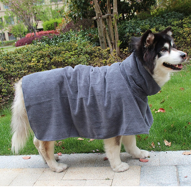 Dog Bathrobe Towel