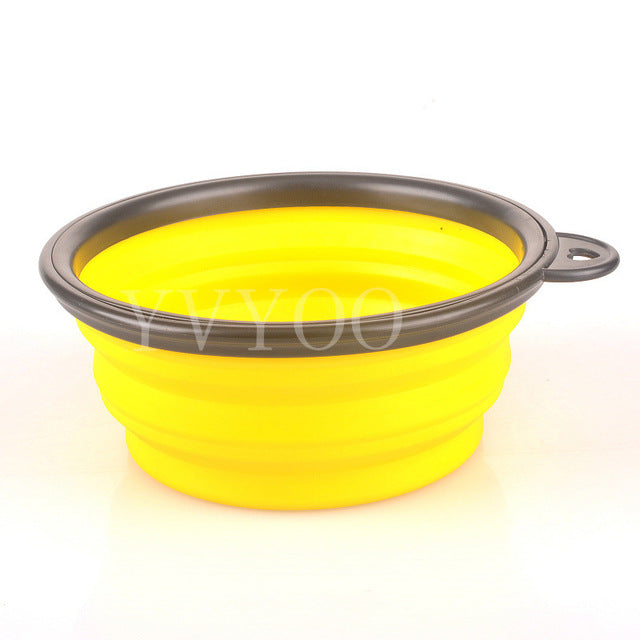 Silicone Dog Bowl and Feed Dish